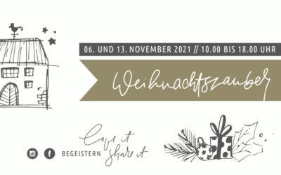 Einladung zum Weihnachtszauber 2021